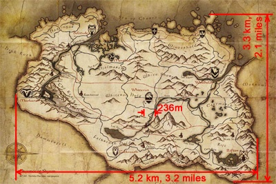 The Geographic Size of Skyrim - Reality is a Game on fallout map size, call of duty: modern warfare 3, red dead redemption map size, dayz map size, rage map size, assassin's creed: revelations, saints row: the third, starcraft 2 map size, assassin's creed map size, red dead redemption, star wars map size, l.a. noire map size, far cry 3 map size, forza horizon map size, mass effect 3, halo reach map size, batman arkham city map size, mafia 2 map size, the elder scrolls, oblivion map size, dead island, the elder scrolls: arena, dying light map size, gta v map size, fallout: new vegas, minecraft map size, star wars: the old republic, dark souls, elder scrolls map size, the elder scrolls iii: morrowind, the elder scrolls iv: oblivion, swtor map size, world of warcraft,