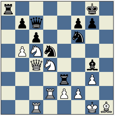 What Is the Best Sacrifice in the History of Chess?  Move Checkmate Diagram on