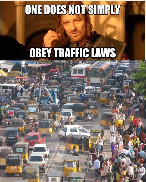 one does not simply india meme