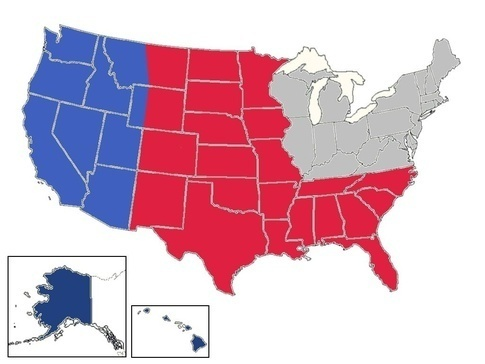 Civil war: Who would come out on top if the United States all ...