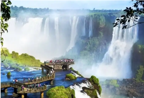 Iguazu Falls, places to travel
